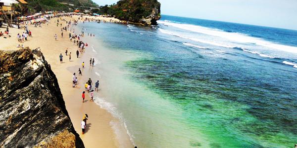 7 Tempat Wisata Pantai di Gunungkidul Jogja yang Populer » 7 Objek Wisata Pantai di Gunung Kidul Jogjakarta yang Populer