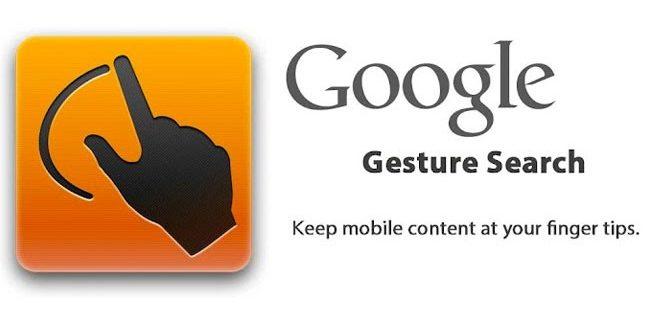 Google Gesture Search 650x312 » Ini Daftar Aplikasi Android Keren Buatan Google