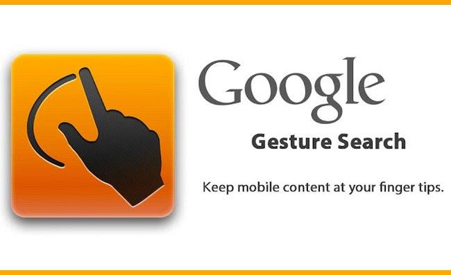 Google Gesture Search » Ini Daftar Aplikasi Android Keren Buatan Google
