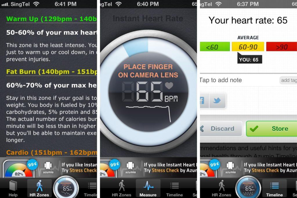 Instan Heart Rate 1024x683 » Jangan Lupa Diinstall! 5 Aplikasi Kesehatan Android Paling Populer