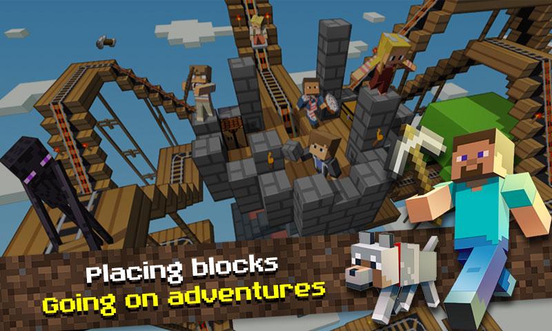 Minecraft » Ini Daftar Game Android untuk Uji Kreativitas Kamu