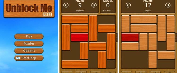Unblock Me FREE 750x312 » Ini Dia Game Asah Otak Paling Menantang di HP Android
