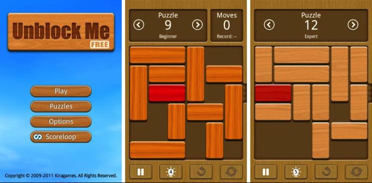 Unblock Me FREE » Ini Dia Game Asah Otak Paling Menantang di HP Android
