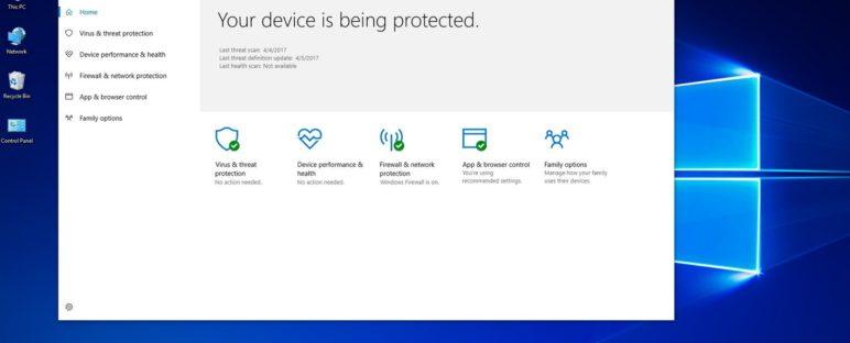Windows Defender Antivirus Bawaan Windows 10 yang Ringan Namun Tetap Garang 772x312 » Windows Defender, Antivirus Bawaan Windows 10 yang Ringan Namun Tetap Garang