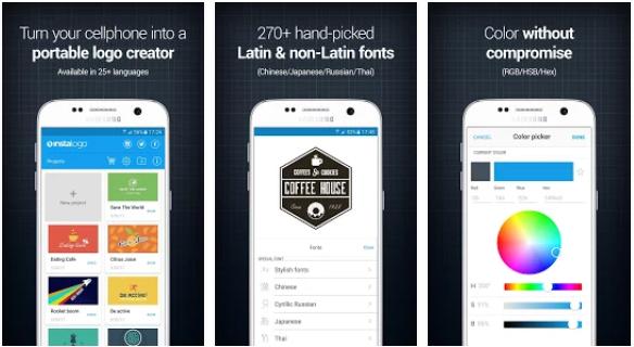 aplikasi android desain logo instalogo » Ini Alternatif 5 Aplikasi Android Untuk Membuat Desain Logo