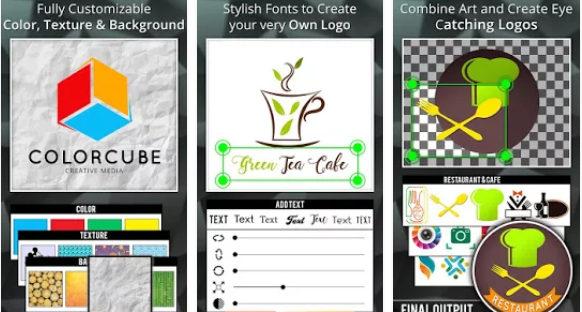 aplikasi android desain logo logo Maker Logo Creator Generator and Designer 582x312 » Ini Alternatif 5 Aplikasi Android Untuk Membuat Desain Logo