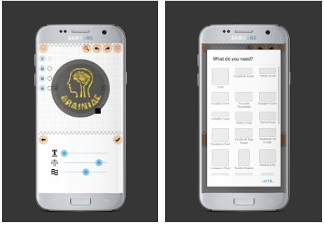 aplikasi android desain logo logo maker plus » Ini Alternatif 5 Aplikasi Android Untuk Membuat Desain Logo