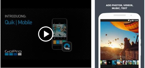 aplikasi android edit video quik gopro » 5 Aplikasi Edit Video Terbaik dari Ponsel Android Kamu