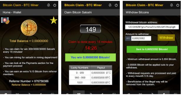 aplikasi android penghasil bitcoin btc miner » Rekomendasi 5 Aplikasi Android Penghasil Bitcoin Gratis