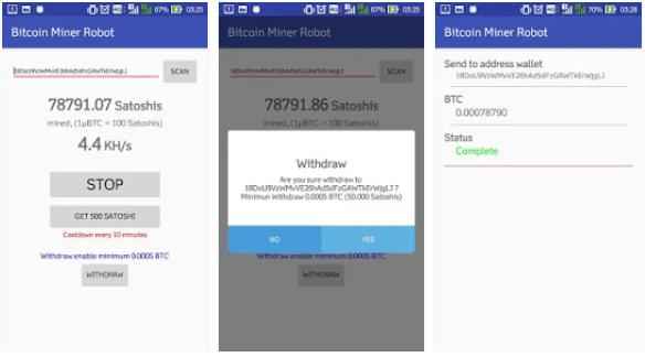 aplikasi android penghasil bitcoin miner robot » Rekomendasi 5 Aplikasi Android Penghasil Bitcoin Gratis