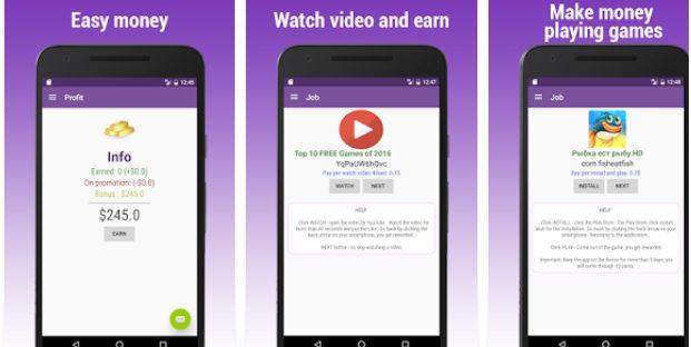 aplikasi android penghasil uang earn money video and apps 621x312 » Aneka Pilihan 5 Aplikasi Android Penghasil Uang Terbaik