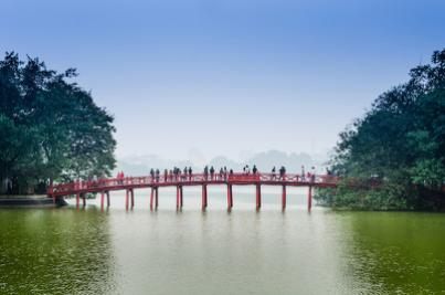 destinasi liburan vietnam danau hoan kiem » Wisata Luar Negeri, Ini Dia Tempat Liburan di Vietnam Yang Populer