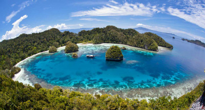 destinasi wisata alam indonesia kepulauan raja ampat » Inilah Tempat Wisata Alam di Indonesia Yang Wajib Dikunjungi