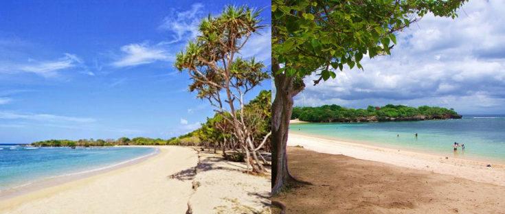 destinasi wisata pantai nusa dua bali 735x312 » Nikmati Pesona Keindahan Objek Wisata Pantai Nusa Dua Bali