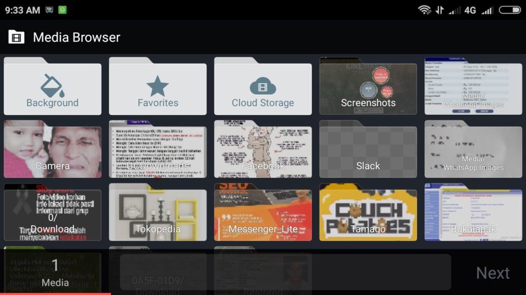 edit video kinemaster 01 1024x576 » Cara Mengedit Video Lewat HP dengan Kinemaster