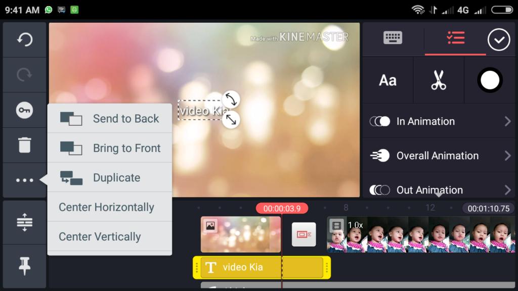 edit video kinemaster 03 1024x576 » Cara Mengedit Video Lewat HP dengan Kinemaster