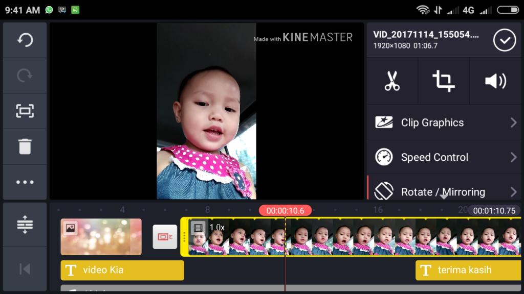 edit video kinemaster 05 1024x576 » Cara Mengedit Video Lewat HP dengan Kinemaster