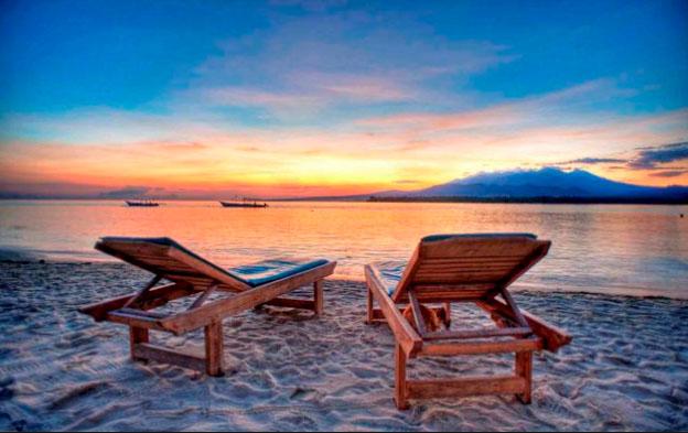 menikmati sunset dari pulau gili meno lombok » Nikmati Indahnya Panorama Gili Meno Destinasi Wisata Alam Lombok yang Memukau