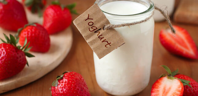 nutrisi dan manfaat yoghurt untuk kesehatan 1 645x312 » Kandungan Gizi dan Manfaat Yoghurt Untuk Kesehatan