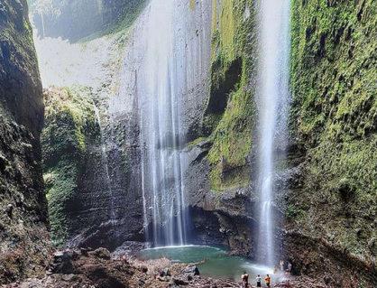 objek wisata air terjun madakaripura probolinggo jawa timur 418x319 » Keindahan Air Terjun Madakaripura Objek Wisata Unggulan Di Probolinggo