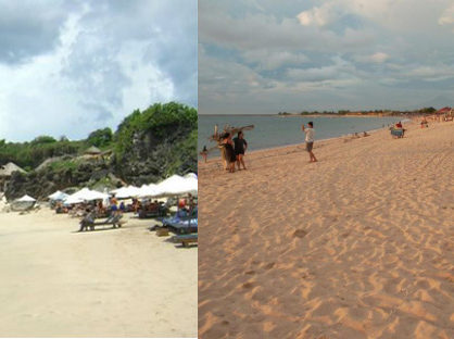 pesona indahnya wisata pantai jimbaran bali 418x312 » Nikmati Panorama Alam Keindahan Wisata Pantai Jimbaran Bali