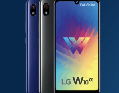 review fitur harga spek hp android lg w10 alpha 418x328 » Menyasar Pasar India, Ini Spesifikasi dan Harga Smartphone Android LG W10 Alpha