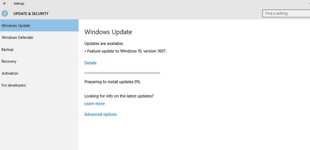 solusi windows 10 tidak bisa update 02 1024x496 » Windows 10 Tidak Bisa Update? Begini Cara Mengatasinya