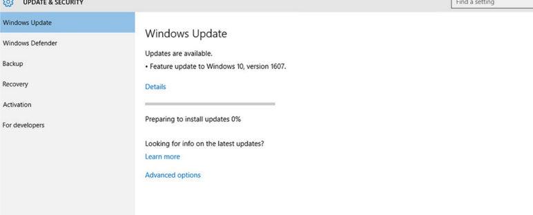 solusi windows 10 tidak bisa update 02 772x312 » Windows 10 Tidak Bisa Update? Begini Cara Mengatasinya
