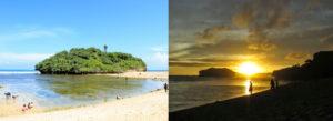 sunset dari lokasi wisata pantai drini gunungkidul jogja 300x109 » Yuk Nikmati Sunset dari Gazebo Pantai Drini Gunung Kidul Yogyakarta