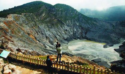 tempat wisata bandung terpopuler gunung tangkuban perahu » Rekomendasi Tempat Wisata Bandung Paling Terkenal