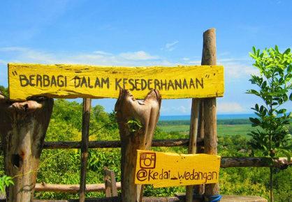 wisata kampung watu lumbung parangtritis jogjakarta 418x290 » Kampung Watu Lumbung Parangtritis, Destinasi Wisata Pembentuk Hati Mulia
