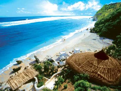 wisata pasir putih pantai karma bali » Objek Wisata Pantai Pasir Putih Karma Bali